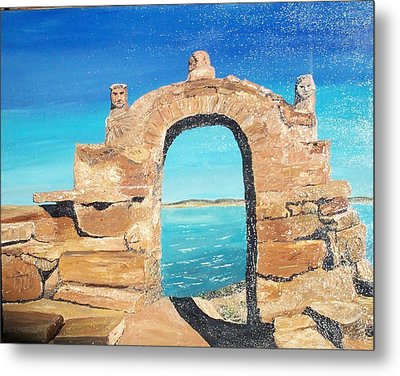 Lake Titicaca Peru Metal Print by Tracey Mitchell