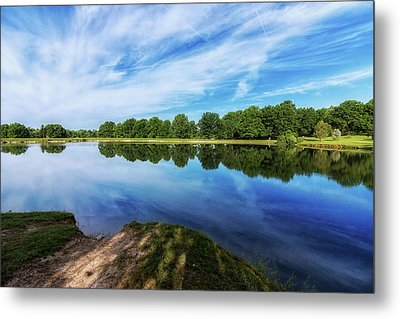 Lake View Metal Print by Tom Mc Nemar