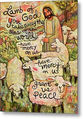 Lamb Of God Metal Print by Jen Norton