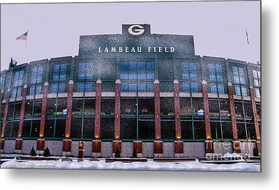 Lambeau  Metal Print by Tommy Anderson
