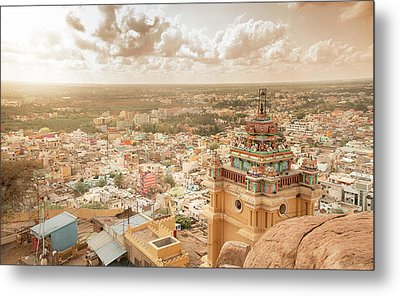 Land Of Antiquities Metal Print by Srinivasan GS
