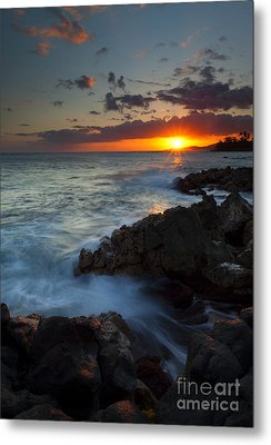 Last Light Over Paradise Metal Print by Mike  Dawson
