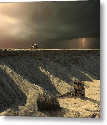 Last Outpost Metal Print by Michal Karcz