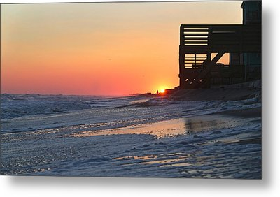 Wish You Were Here Metal Print by Betsy C Knapp