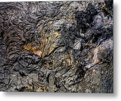 Metal Print featuring the photograph Lava by M G Whittingham