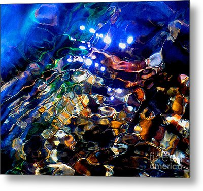 Layers Of Color And Light Metal Print by Terril Heilman