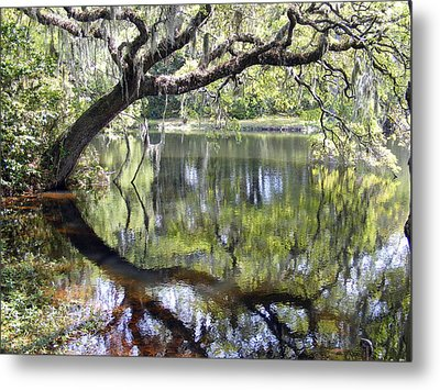 Lean On Me At The Birthplace Of America Metal Print by Elena Tudor
