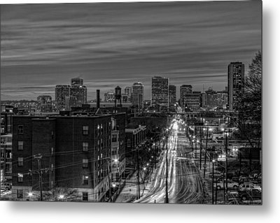Leaving On Main Metal Print by Tim Wilson