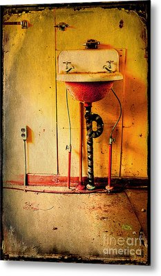 Left And Forgotten Metal Print by Michael Eingle