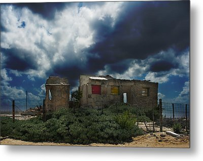 Left Behind Metal Print by Laurie Search