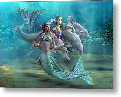 Legends Metal Print by Betsy C Knapp