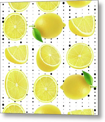 Lemon  Metal Print by Mark Ashkenazi