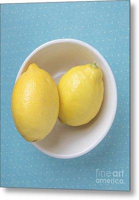 Lemon Pop Metal Print by Edward Fielding