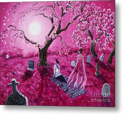 Lenore In The Breaking Dawn Metal Print by Laura Iverson