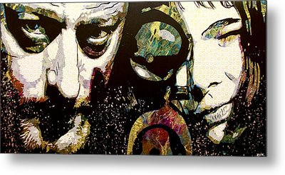 Leon And Mathilda Metal Print by Bobby Zeik