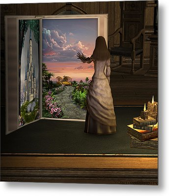 Ler Your Imagination . . . Metal Print by David Griffith