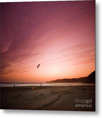 Lets Go Fly A Kite Metal Print by Angel  Tarantella