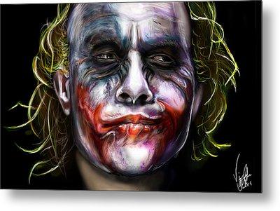 Let's Put A Smile On That Face Metal Print by Vinny John Usuriello
