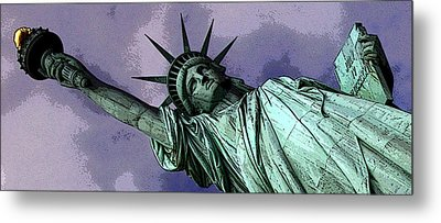 Liberty 3 Metal Print by William  Todd