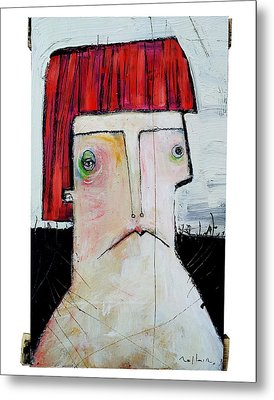 Life As Human Number Seven Metal Print by Mark M  Mellon