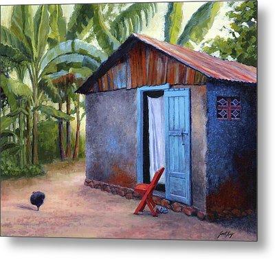 Life In Haiti Metal Print by Janet King