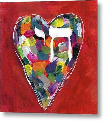 Life Is Colorful - Art By Linda Woods Metal Print by Linda Woods