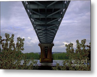 Life Under A Bridge Metal Print by The Stone Age