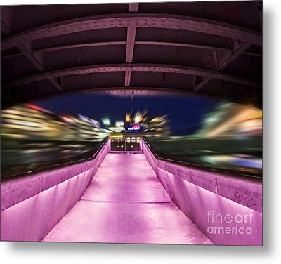 Life Under The City In Geneva Metal Print by Chris Smith