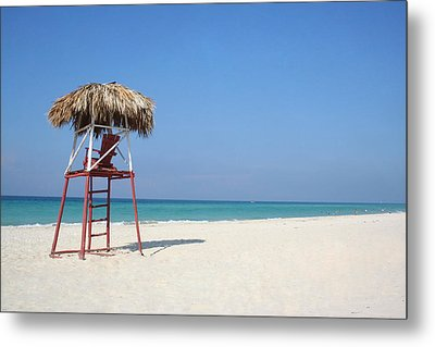 Lifeguard Metal Print by Joe Burns
