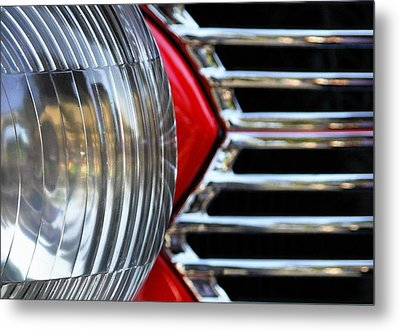 Light And Grill Metal Print by Dan Holm