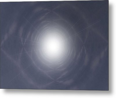 Light At The End Of The Tunnel Metal Print by Thomas  MacPherson Jr