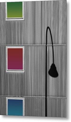 Light Diffraction Metal Print by Bastian Kienitz