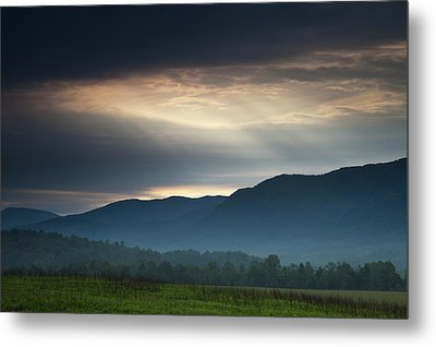 Light From Above Metal Print by Andrew Soundarajan