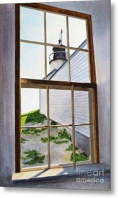 Lighthouse View Metal Print by Karol Wyckoff