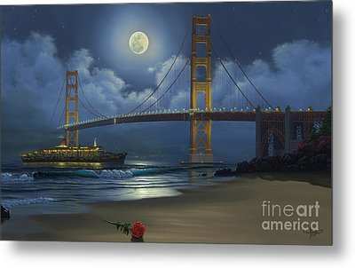 Lighting The Way Home Metal Print by Al Hogue
