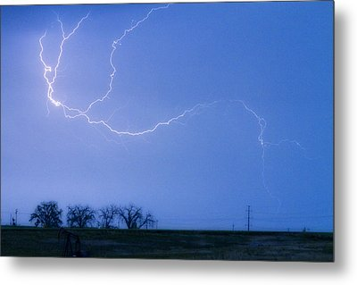 Lightning Crawler Metal Print by James BO  Insogna