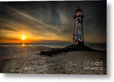 Lights Out Metal Print by Adrian Evans