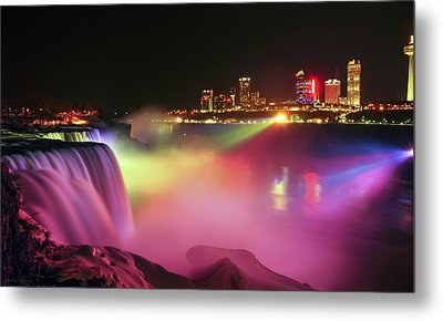 Lightshow Metal Print by Mark Papke
