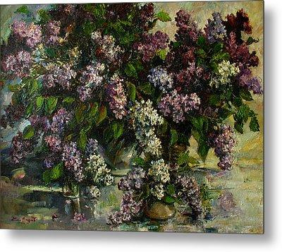 Lilacs Metal Print by Tigran Ghulyan