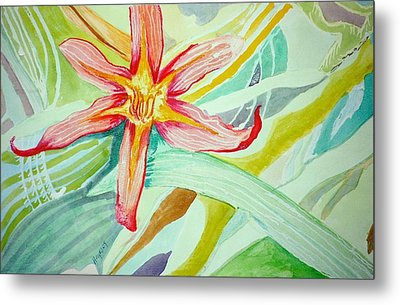 Lilly  Metal Print by Jame Hayes