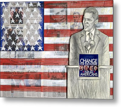 Lincoln Metal Print by Yvonne Dagger