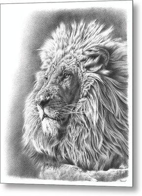 Lion King Metal Print by Remrov