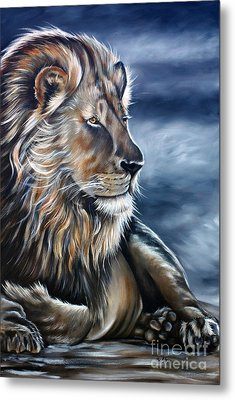 Lion Metal Print by Ilse Kleyn
