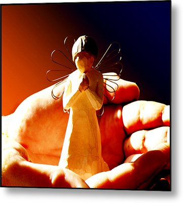 Little Angel Metal Print by Holly Kempe