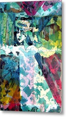 Little Angel Metal Print by Mindy Newman