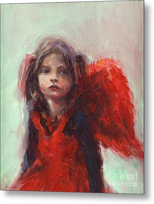 Little Angel Metal Print by Svetlana Novikova