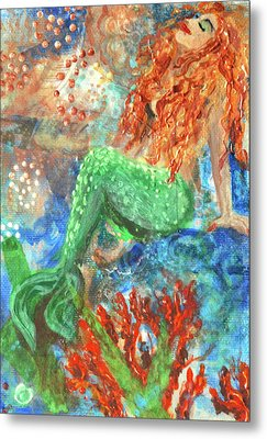 Little Mermaid Metal Print by Jennifer Kelly