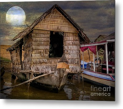 Living On The River Metal Print by Adrian Evans