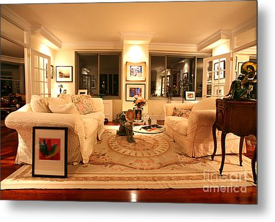 Living Room IIi Metal Print by Madeline Ellis