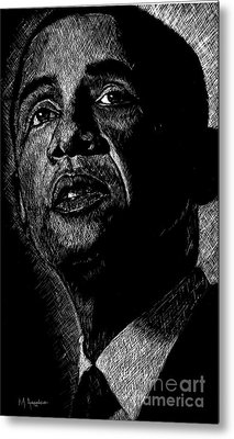Living The Dream Metal Print by Maria Arango